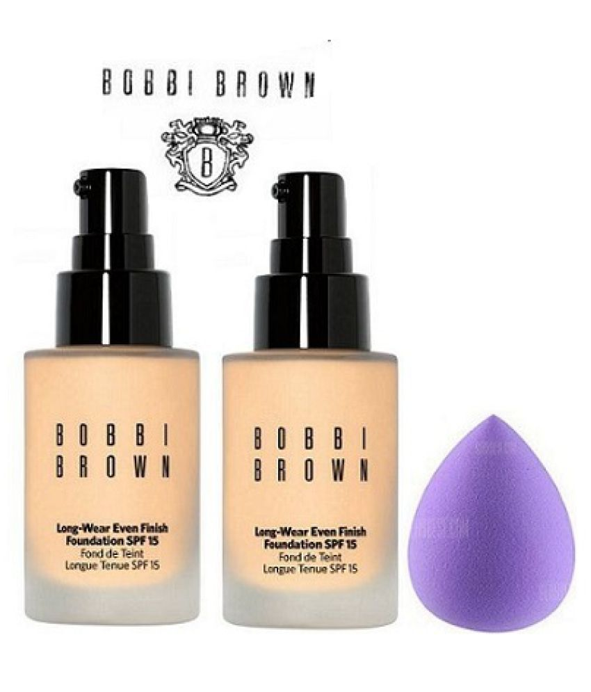 Bobbi Brown Long Wear Even Finish Liquid Foundation Makeup Kit Ml