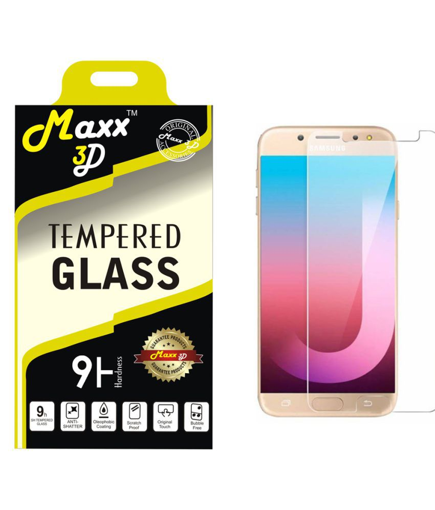 Samsung Galaxy On Max Tempered Glass Screen Guard By MAXX3D