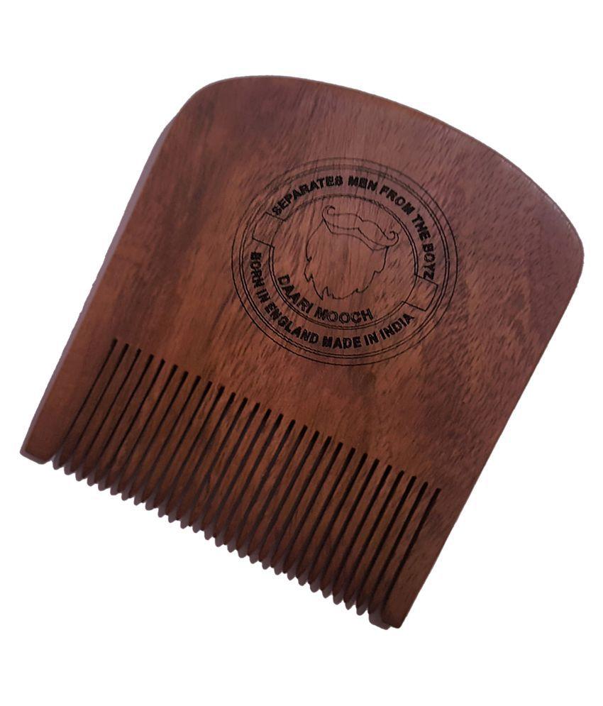 DAARIMOOCH Beard Comb Full Size Fine Tooth Comb 1 Pcs