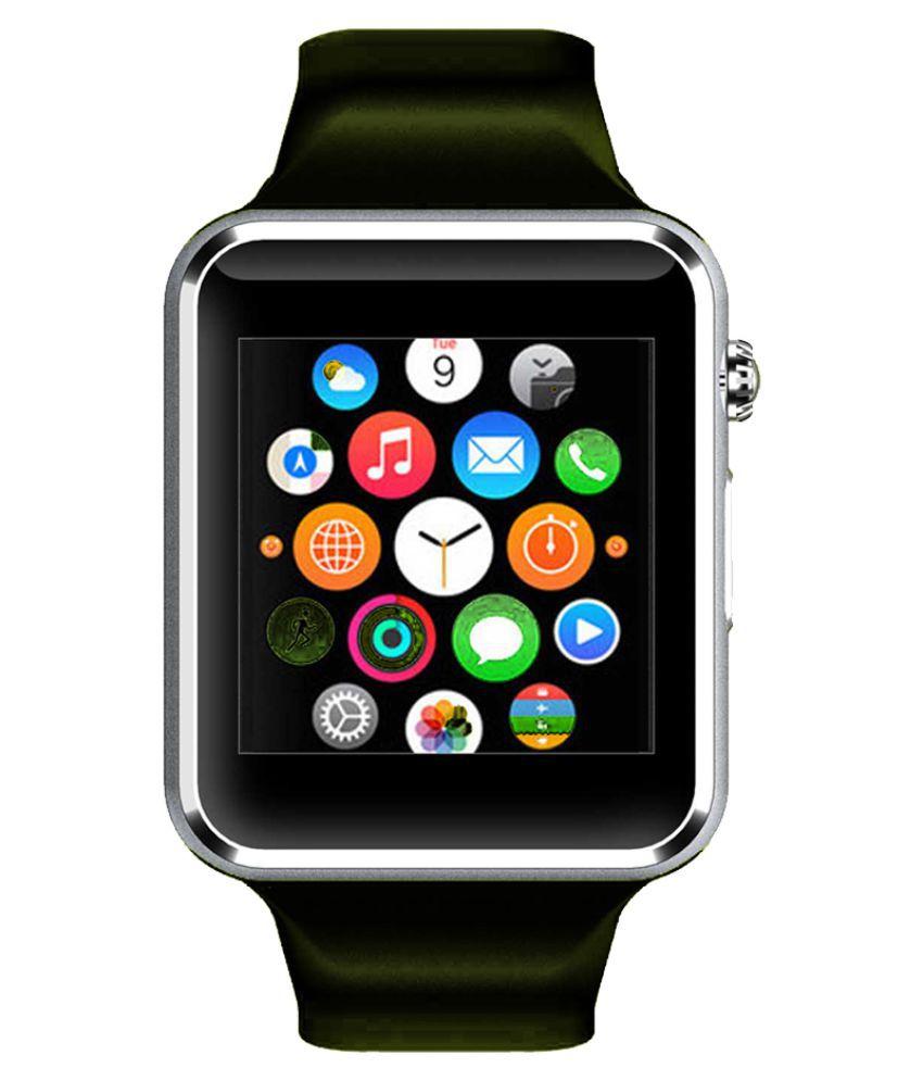 WOKIT Smartwatch Suited Acer Liquid Z6 Plus A1 Silver Smart Watches
