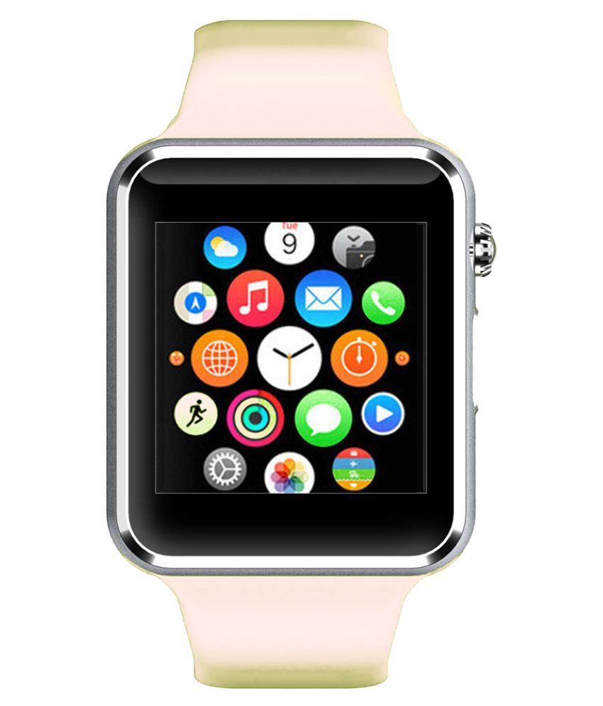 WOKIT Smartwatch Suited Huawei Honor Bee A1 White Smart Watches