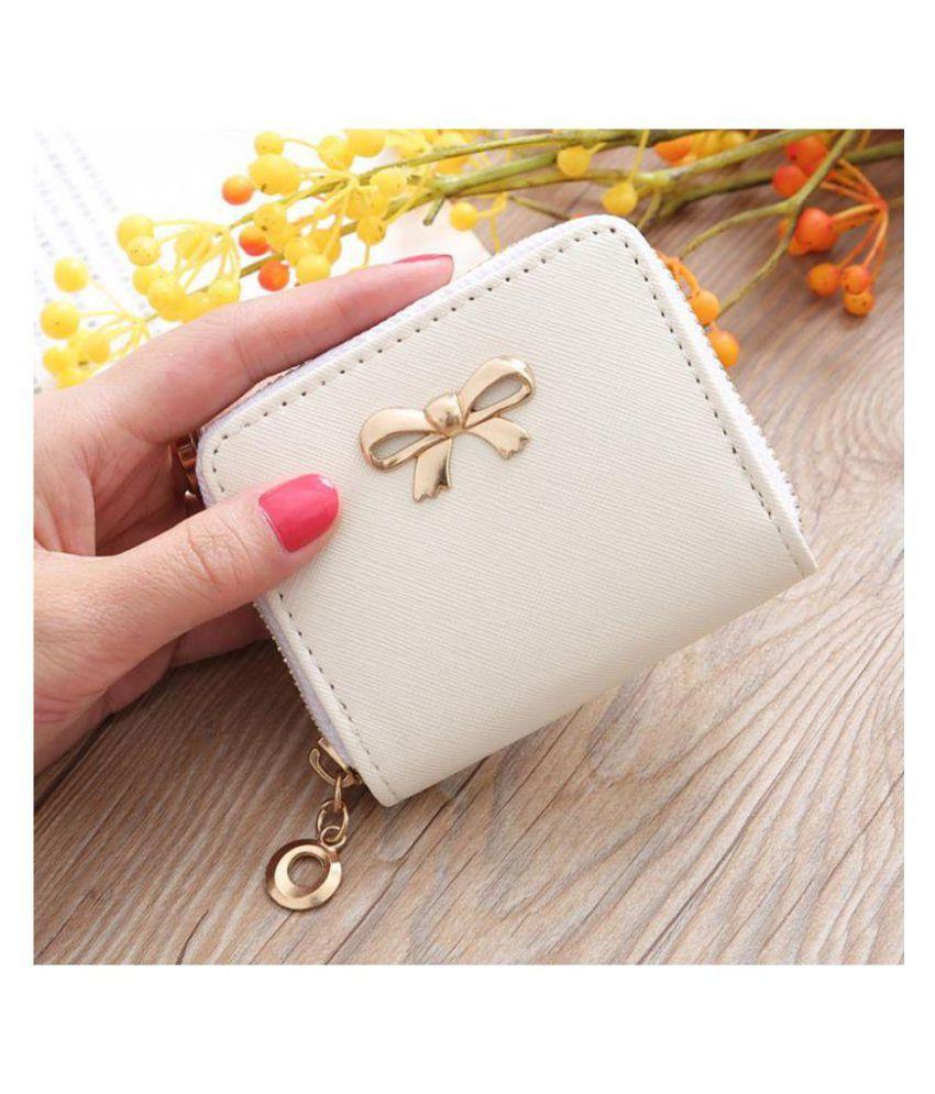 Noble White Wallet