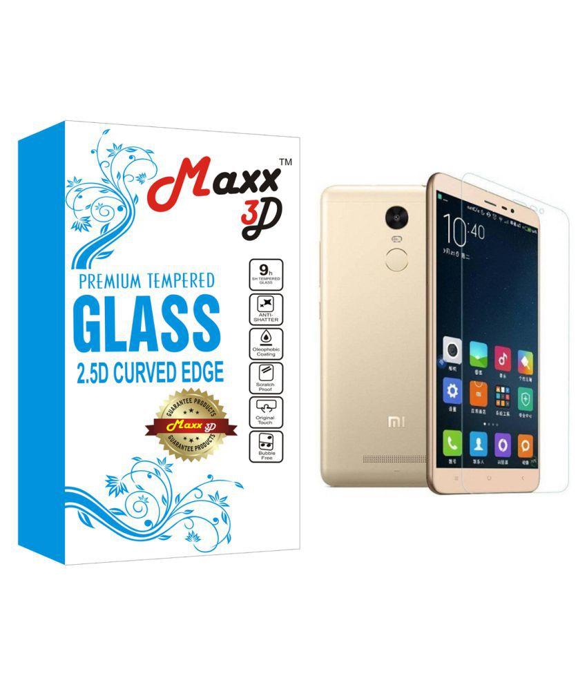 Xiaomi Redmi Note 4 Tempered Glass Screen Guard By MAXX3D