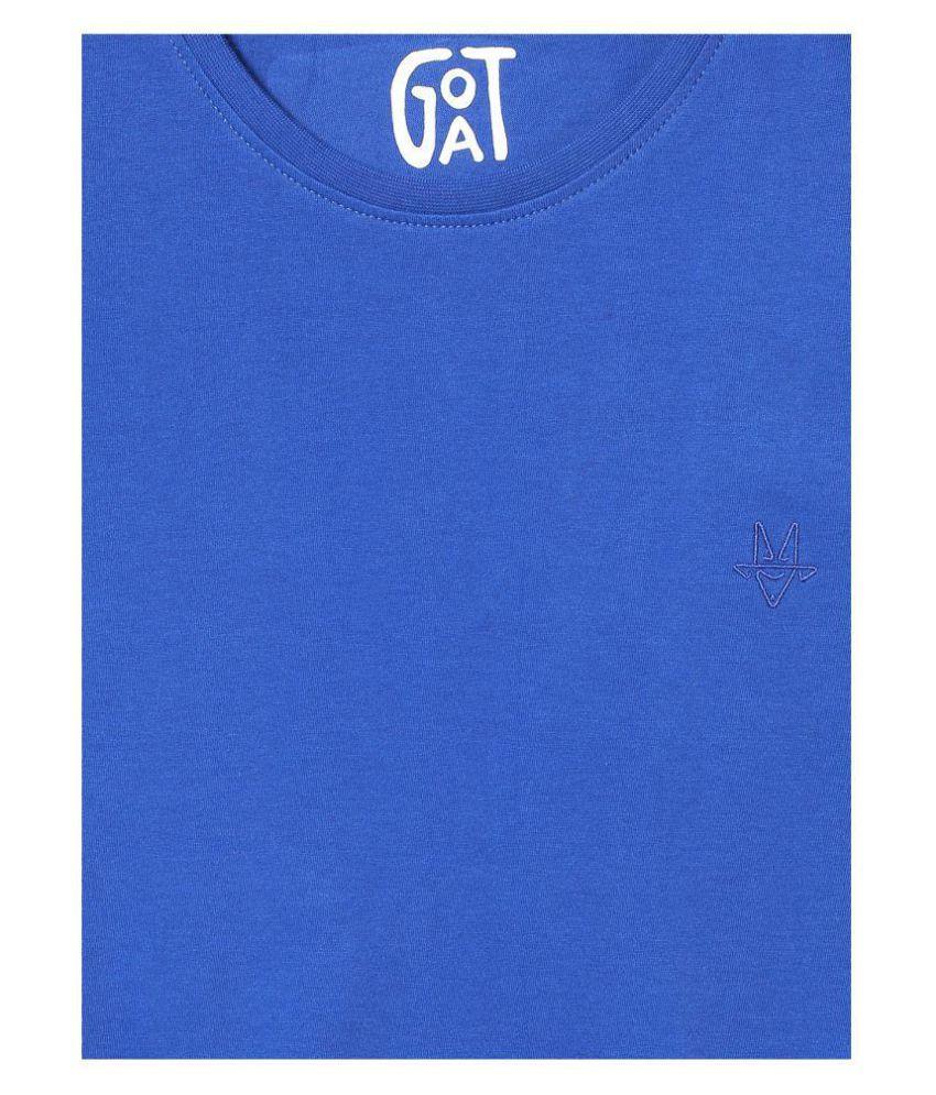 Goat Blue Half Sleeve T-Shirt