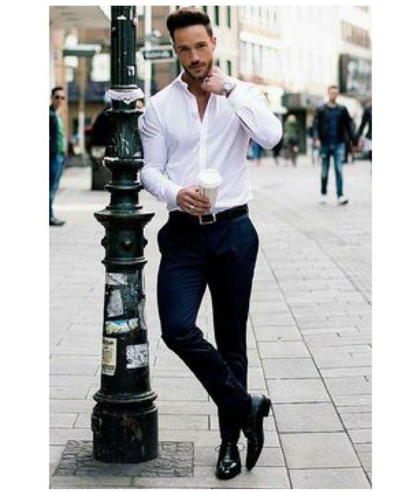 d1a5f31c88 ... Dmor Multi Cotton Blend Unstitched Shirts   Trousers White Unstitched Shirt  AND BLACK UNSTITCHED ...