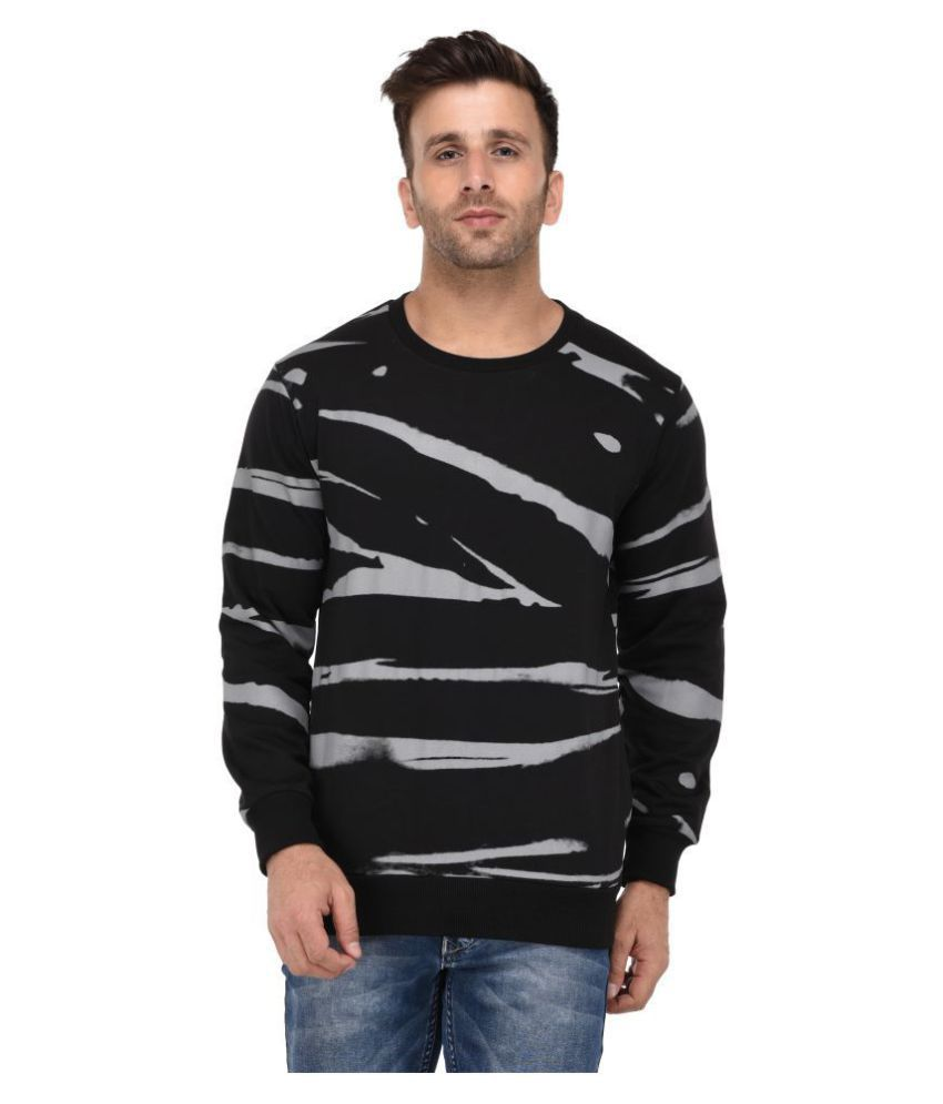 Vivid Bharti Black Full Sleeve T-Shirt