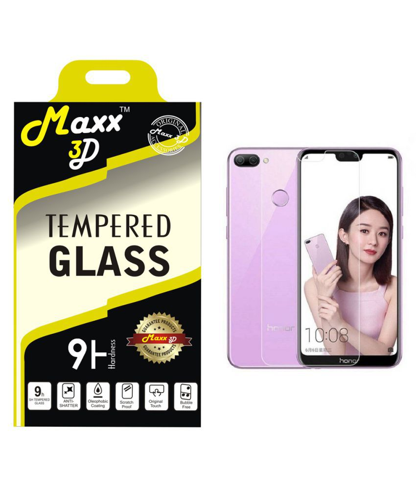 Honor 9N Tempered Glass Screen Guard By MAXX3D