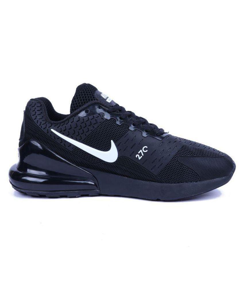 6d90bf4f9c382 Nike Airmax 270 Flair Kpu Black Running Shoes - Buy Nike Airmax 270 ...