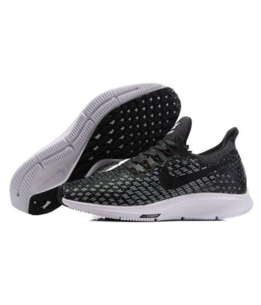 on sale 3d0d7 003ab Nike Zoom Pegasus 35 Black Running Shoes