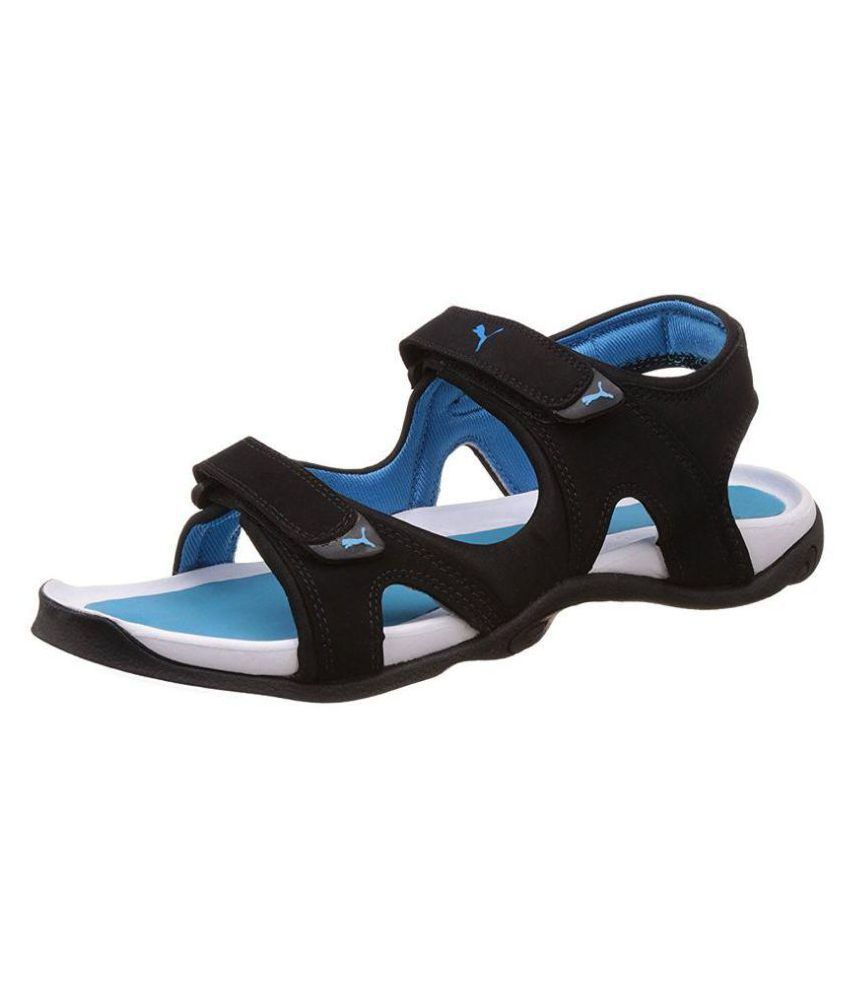 e0e1bc48d81a Puma Men s Jimmy Dp Athletic   Outdoor Black Synthetic Leather Sandals  Price in India- Buy Puma Men s Jimmy Dp Athletic   Outdoor Black Synthetic  Leather ...
