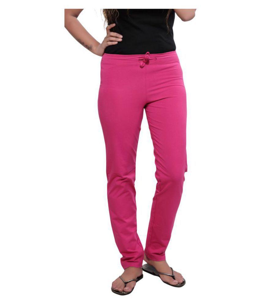 Sweet Dreamers Lycra Pajamas - Pink