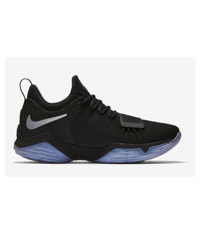 "23b41b19d348 Nike Zoom PG 1 ""Pre-Heat"" Black Basketball Shoes - Buy Nike Zoom PG 1  ""Pre-Heat"" Black Basketball Shoes Online at Best Prices in India on Snapdeal"