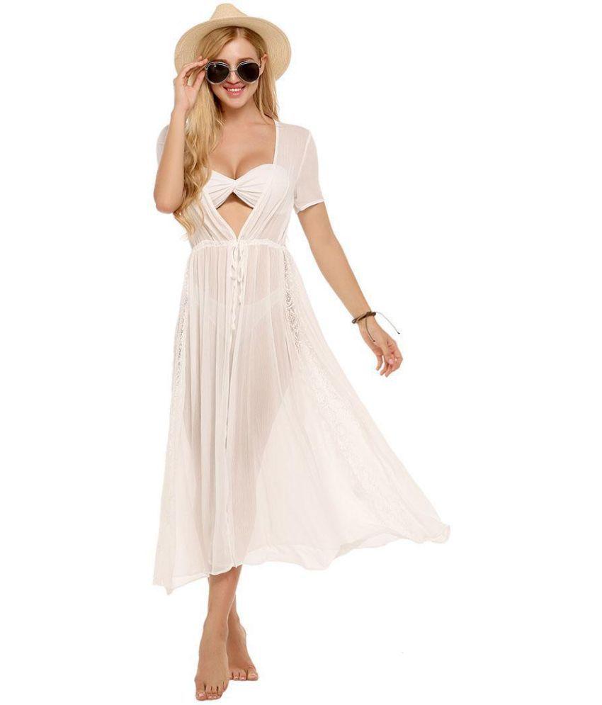 Generic Chiffon white Asymmetric dress