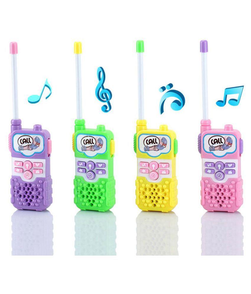 Intercom Electronic Walkie Talkie Kids Child Mini Toys Portable Two-Way Radio