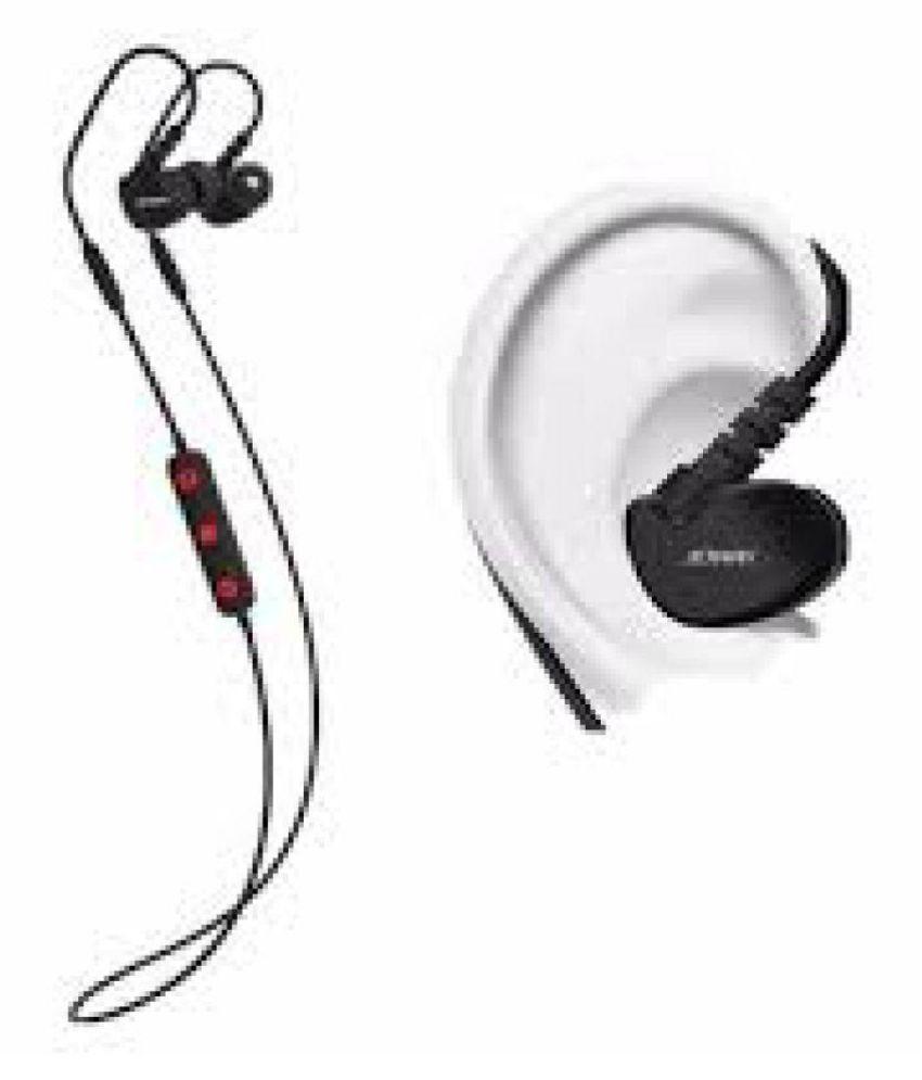 36f99b5d6d9 Syska H13 Wireless Bluetooth Headphone Black Syska H13 Wireless Bluetooth  Headphone Black ...