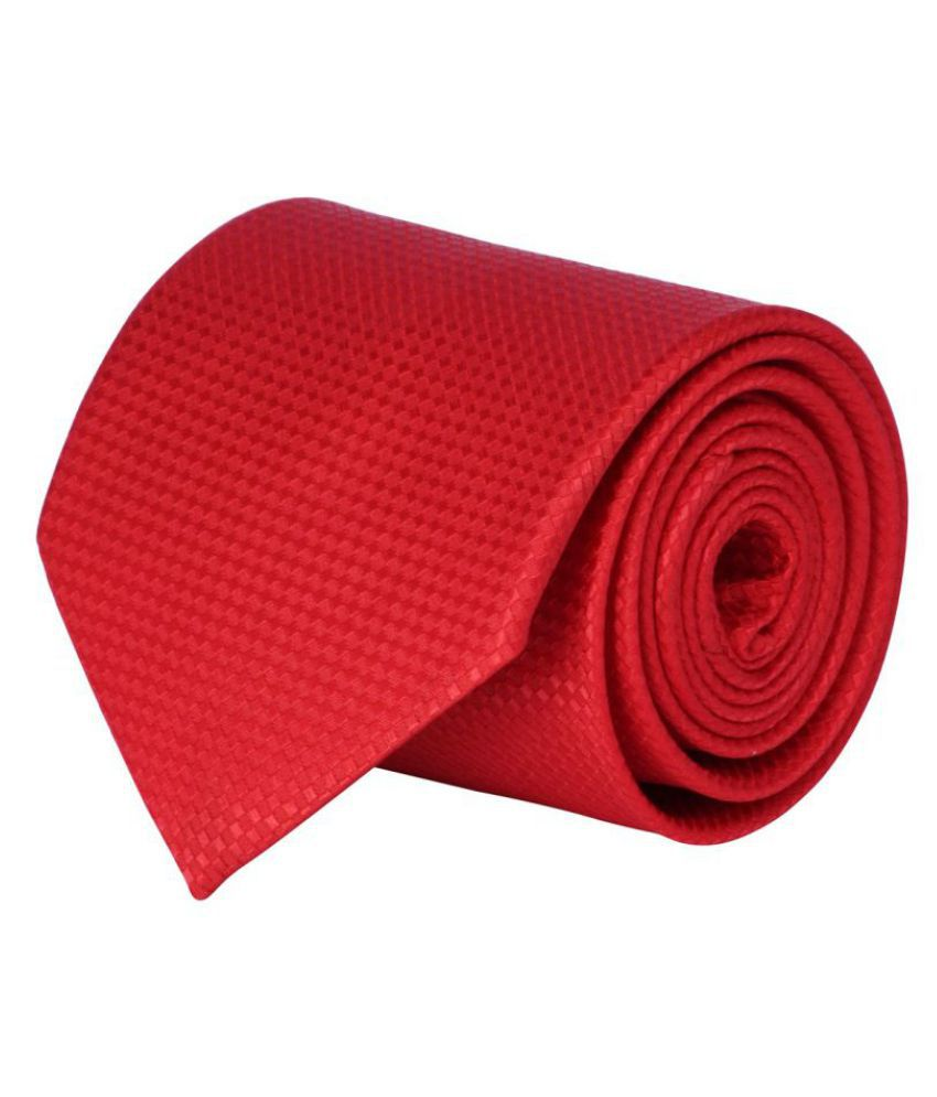CorpWed Red Dots Polyester Necktie