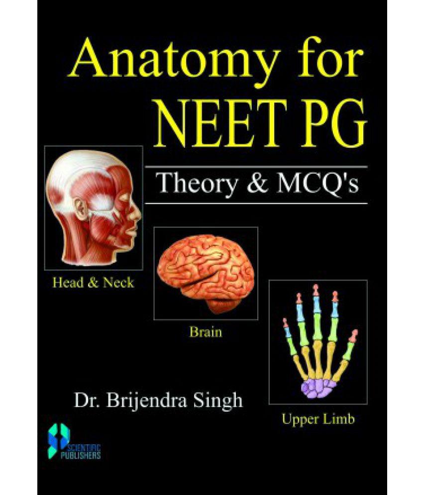 Anatomy For Neet Pg Theory Mcqs Vol 1 2 Buy Anatomy For