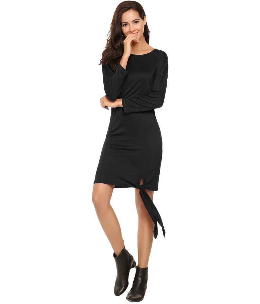 1dd5161b844b Generic Lace black Pencil Dress - Buy Generic Lace black Pencil ...