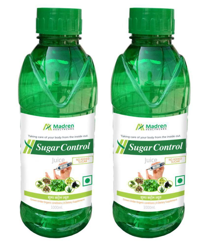 Madren Healthcare Sugar Care 1 Ltr PACK OF 2 Health Drink 2000 ml