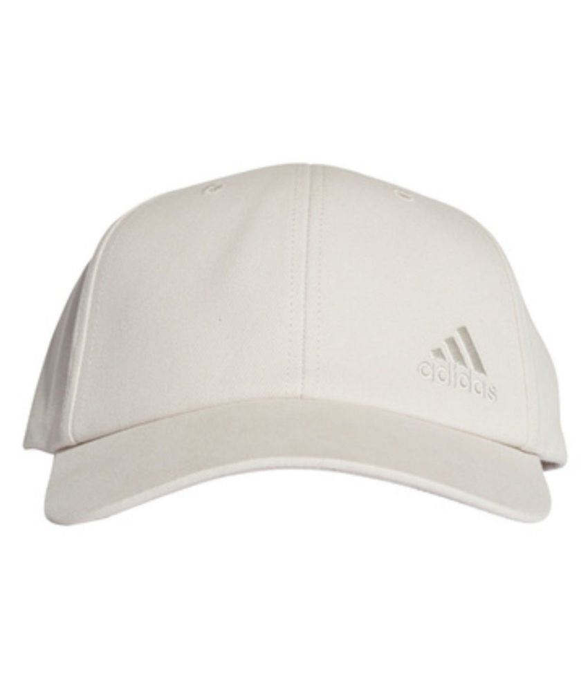bb724815770 Adidas White Printed Cotton Caps - Buy Online   Rs.