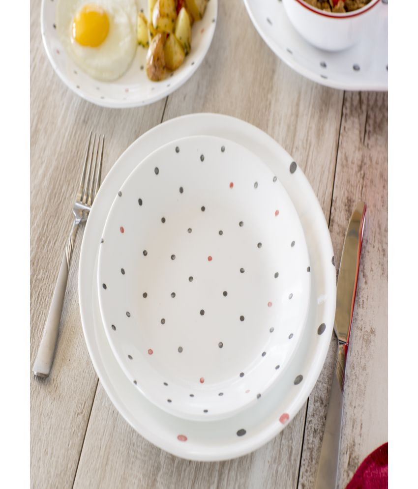 Corelle 30-PDE Glass Dinner Set of 30 Pieces