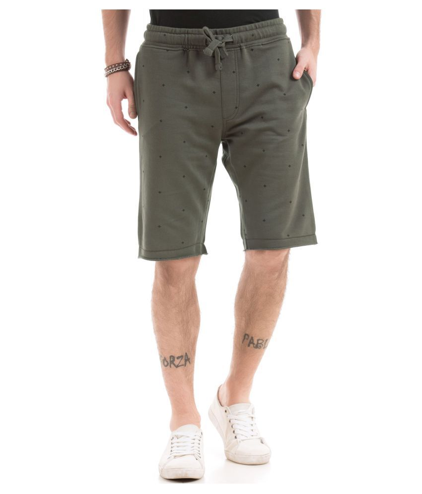 Ed Hardy Green Shorts