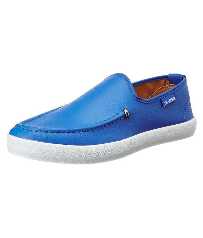 ffa85a37380 Lee Cooper Blue Casual Shoes - Buy Lee Cooper Blue Casual Shoes Online at Best  Prices in India on Snapdeal