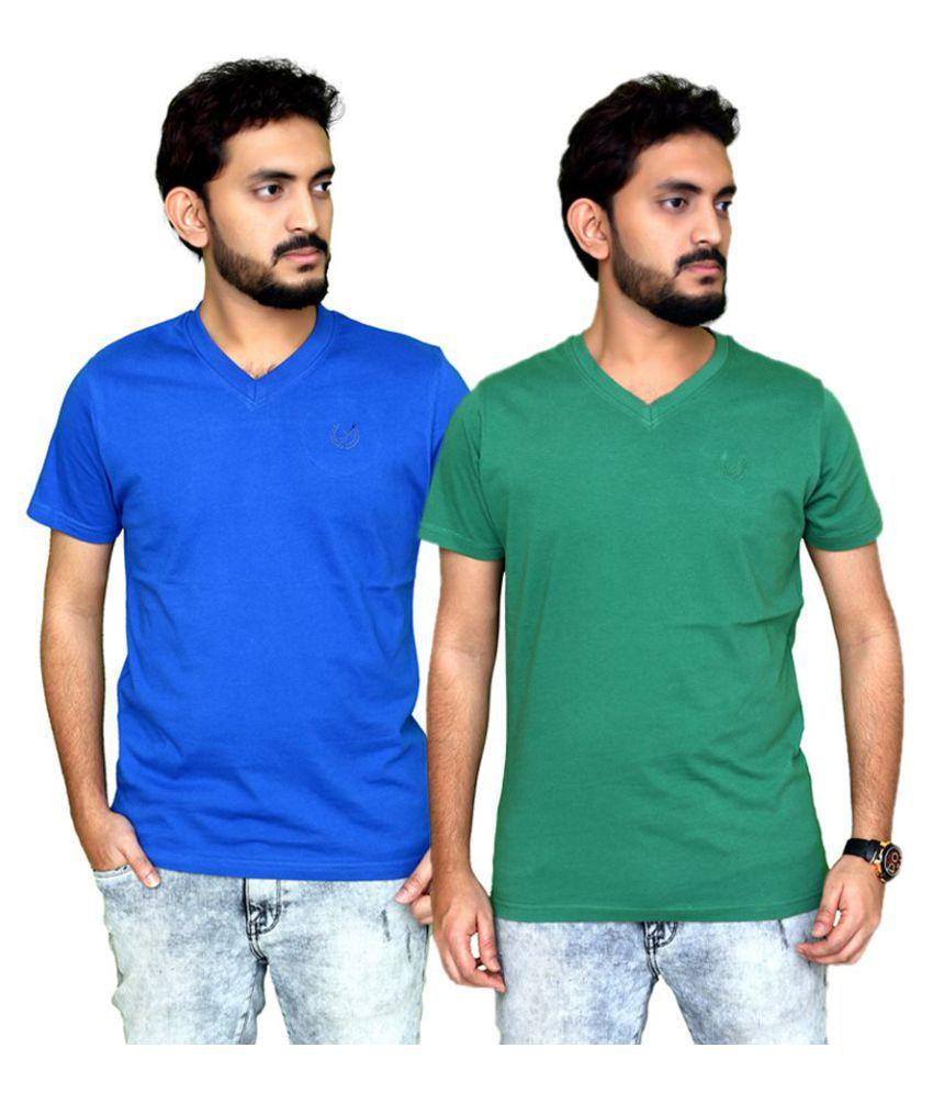 Planet 69 Multi Half Sleeve T-Shirt