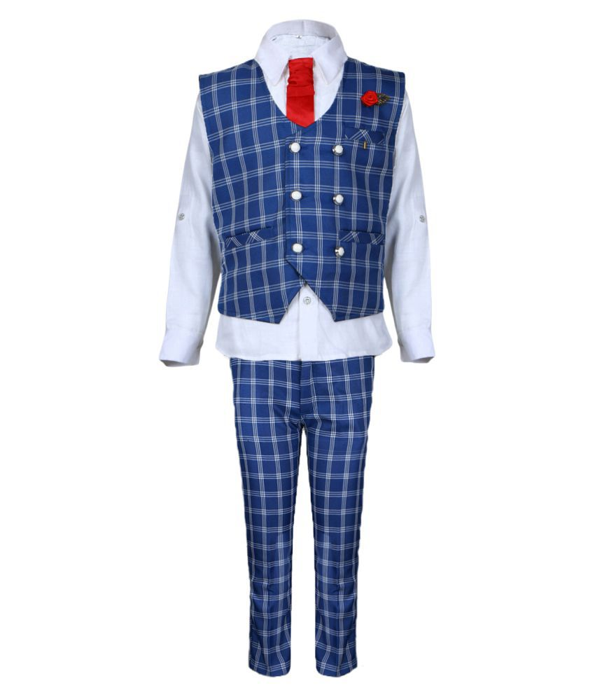 AJ Dezines Kids Party Wear Suit Set for Baby Boys