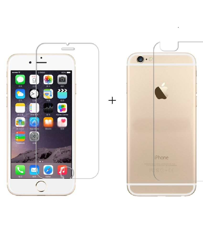Apple iPhone 6 Anti Shock Screen Guard By ELEF  0.2MM  Flexible Unbreakable Fiber Tempered Glass
