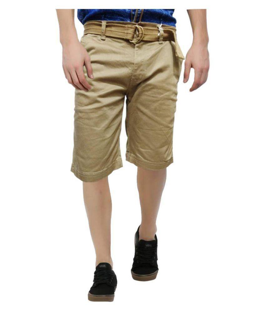 NLG Beige Regular Fit Jeans