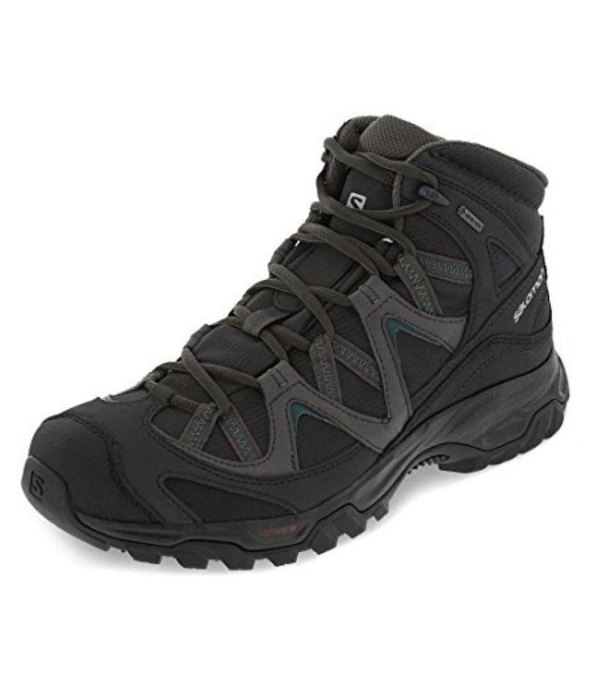 c46fff8e942 Salomon CAGLIARI MID GTX Black Hiking Shoes