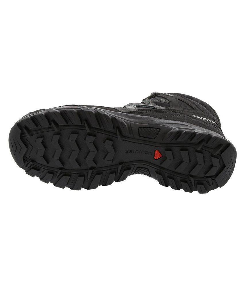Salomon CAGLIARI MID GTX Black Hiking Shoes - Buy Salomon ...