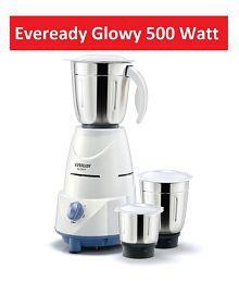 Eveready Glowy 500 Watt 3 Jar Mixer Grinder