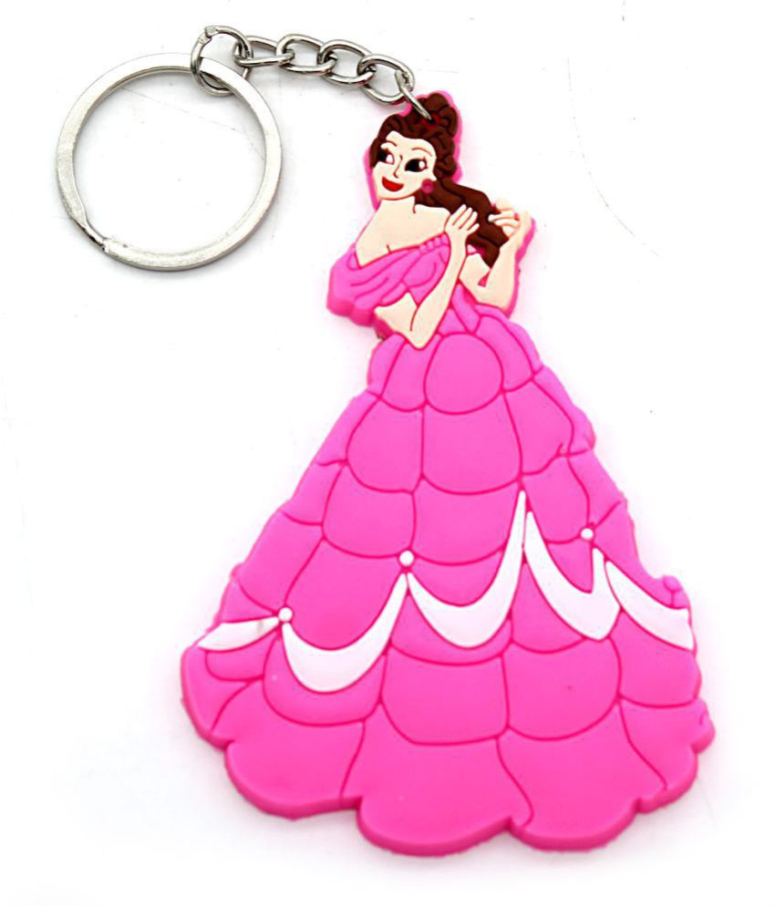 Indi Creation Premium Quality Barbie Keychains For Girls Womens