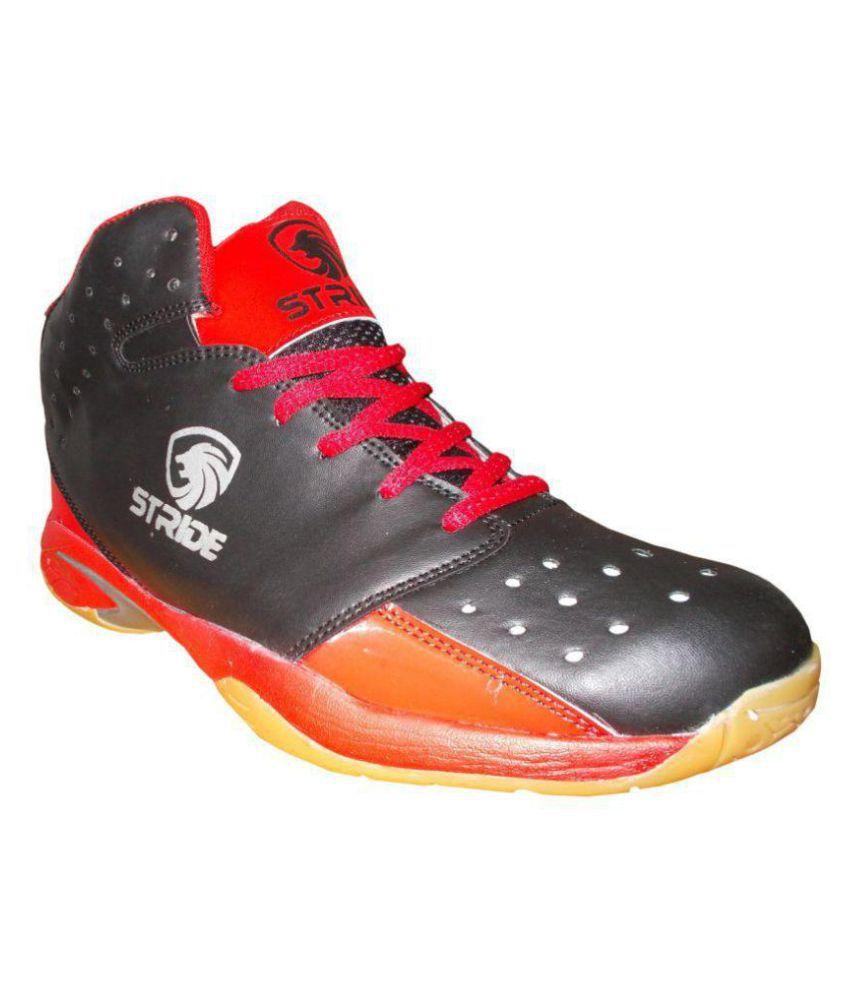 Port Black Indoor Court Shoes
