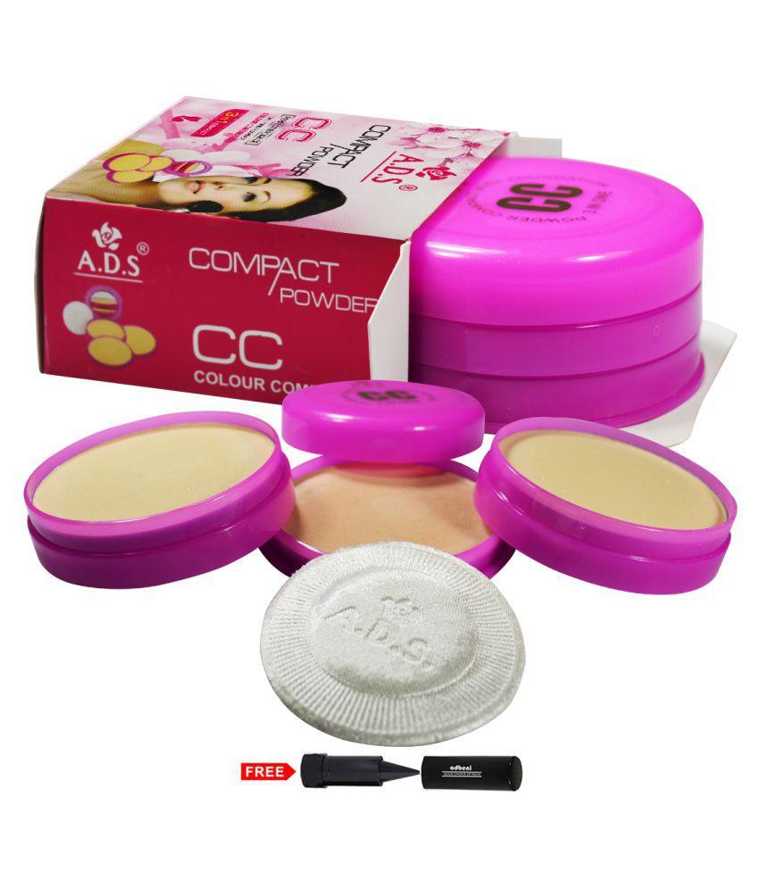 ADS 3in1 CC Colour Combination 1124CC Pressed Powder Brandy 30 gm