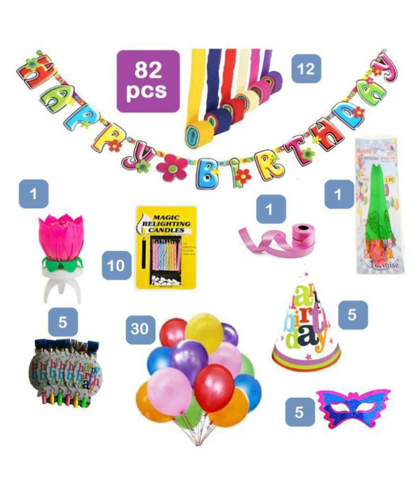 Exclusive Collection Of Birthday Decorations