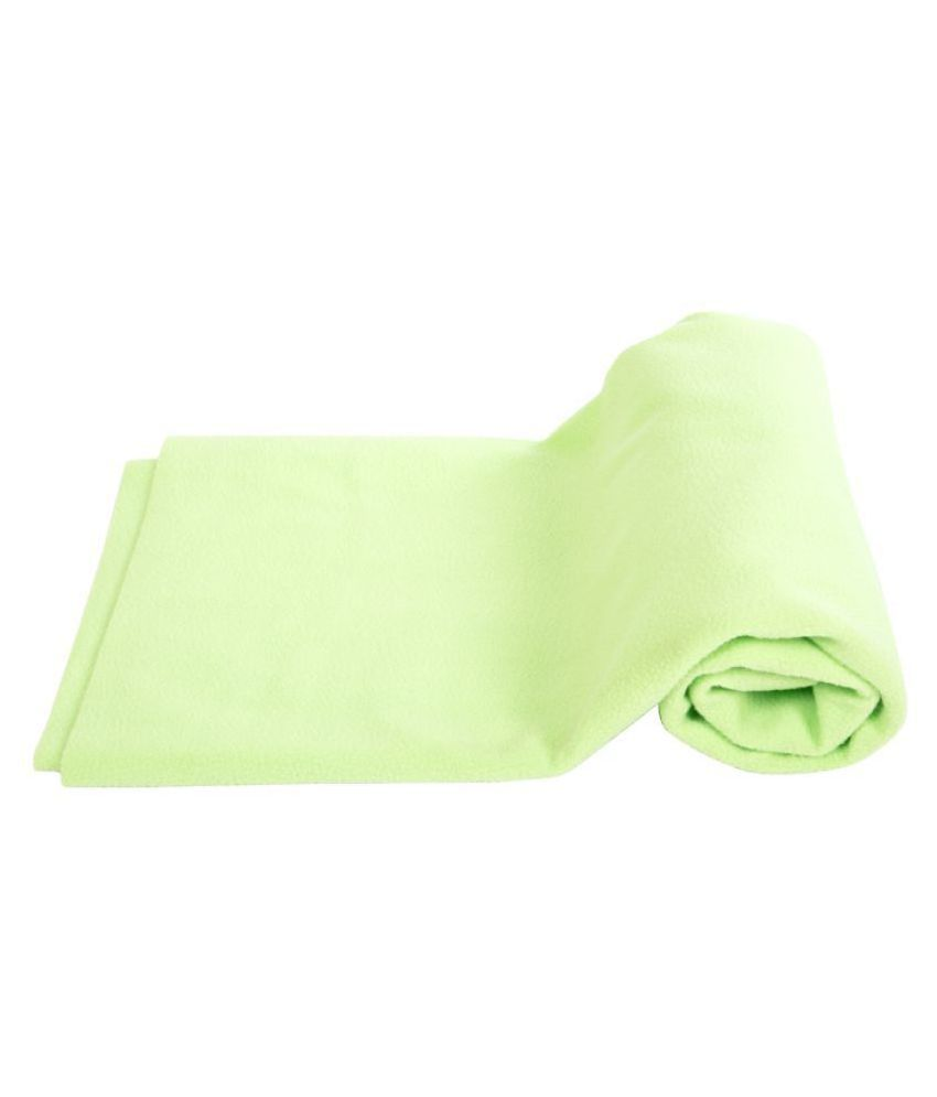 Mee Mee Green Poly Cotton Quick Dry sheet ( 21 cm × 5 cm)