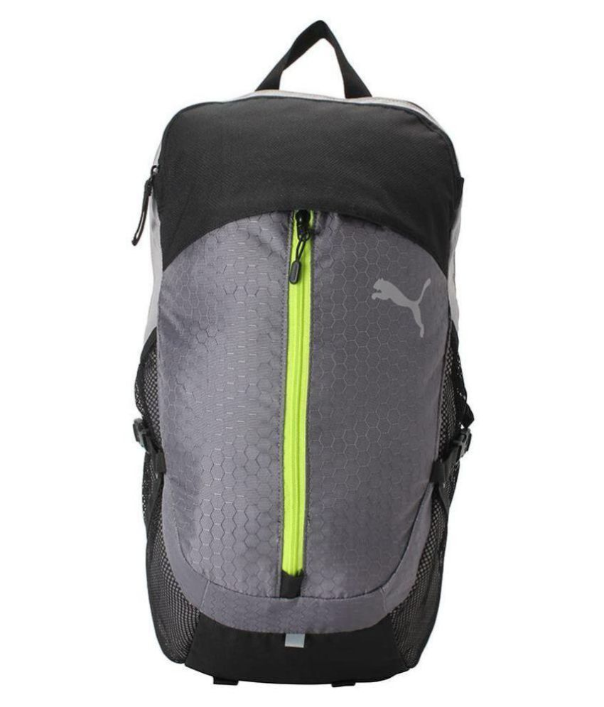 1ddf1c85cec7 Puma Grey APEX Backpack - Buy Puma Grey APEX Backpack Online at Low Price -  Snapdeal