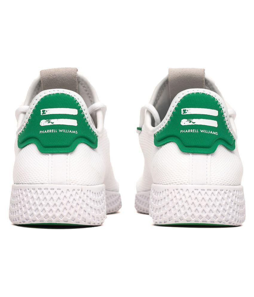 0411227b4 Adidas x PHARRELL WILLIAMS HU TENNIS Sneakers White Casual Shoes ...