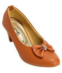 Quick View Alert India Tan Cone Heels