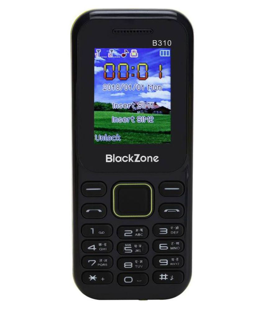 6d0372ae9 Black Zone B310 Blue - Feature Phone Online at Low Prices