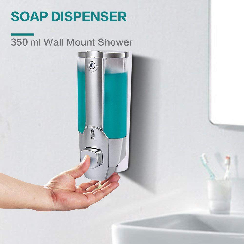 Clean Home Bathroom Liquid Soap Dispenser 350ML
