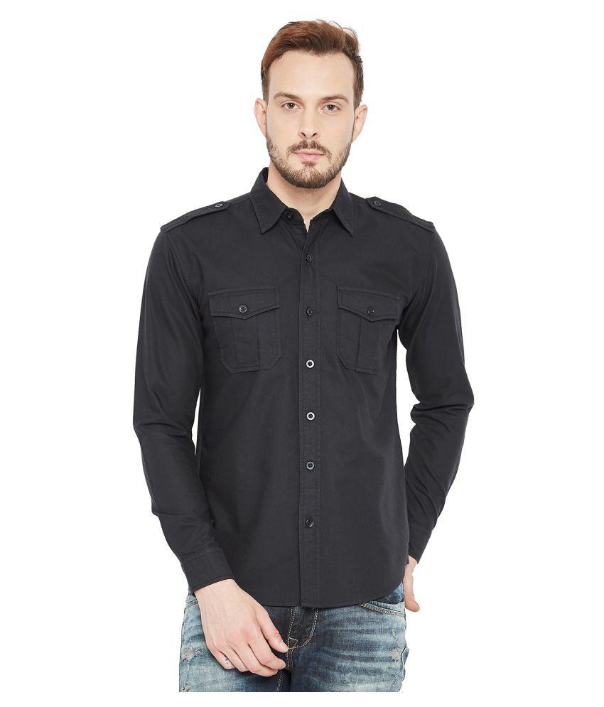 PUNK Black Half Sleeve T-Shirt