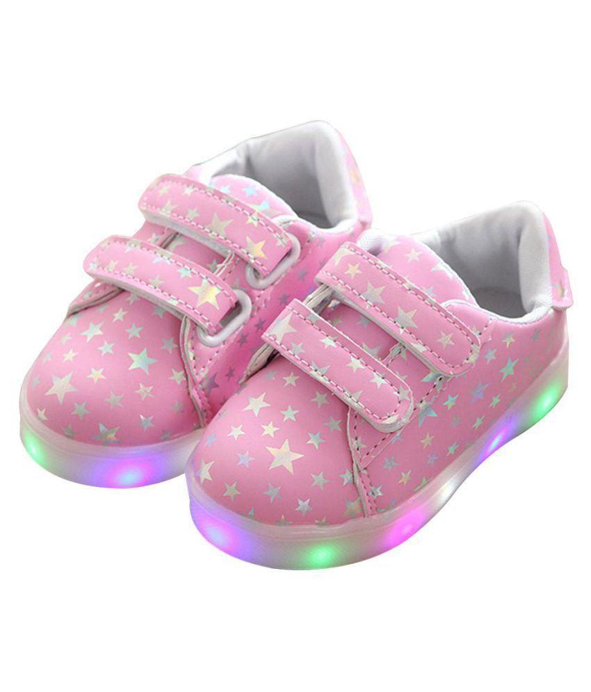 Baby Fashion Sneakers LED Luminous
