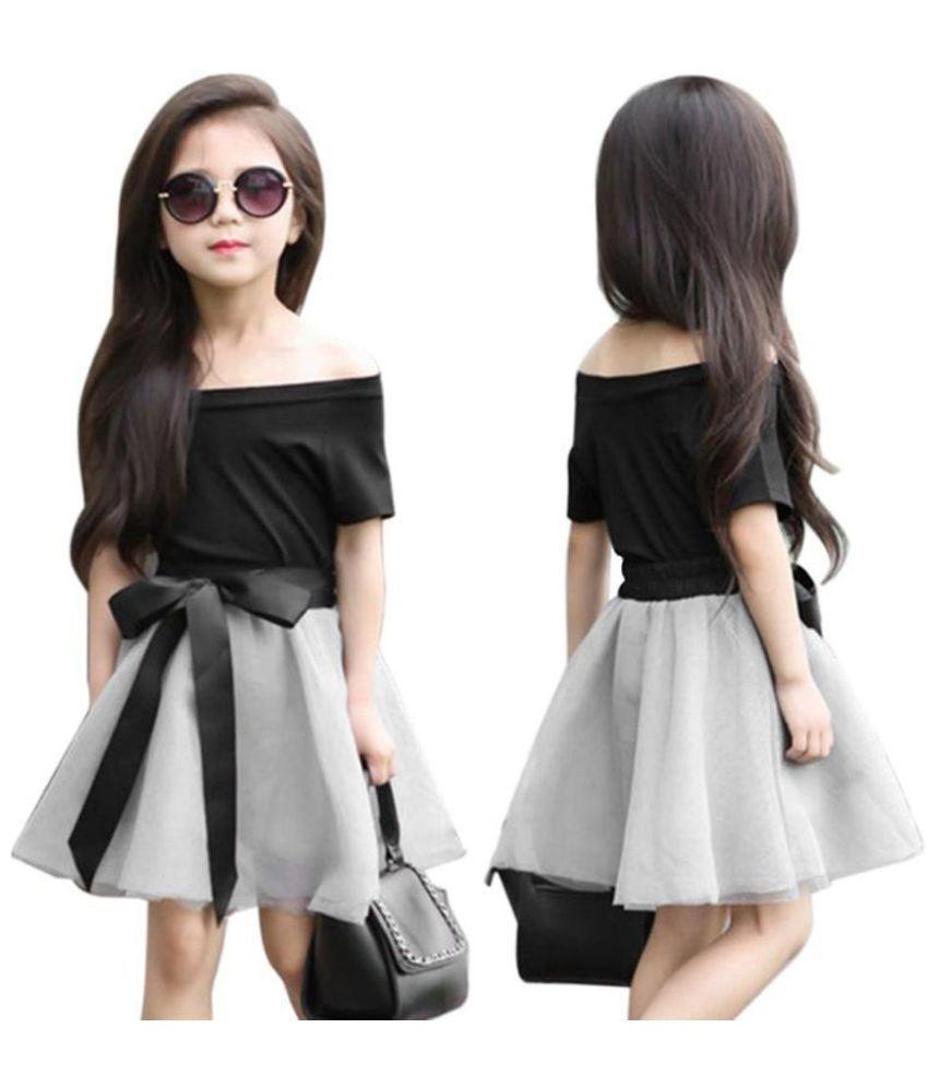 Kids Girls Fashion Summer Short Sleeve Top Bowknot Gauze ...