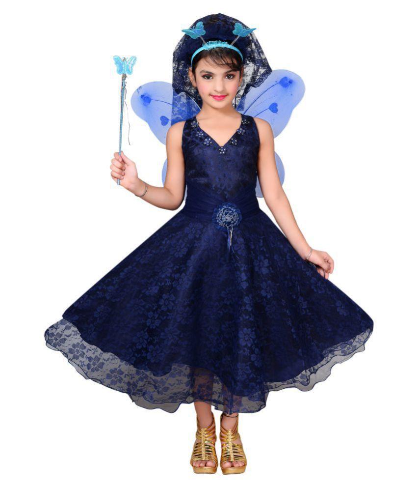ahhaaaa Girls Angel Pari Dress/Chrismas Gown