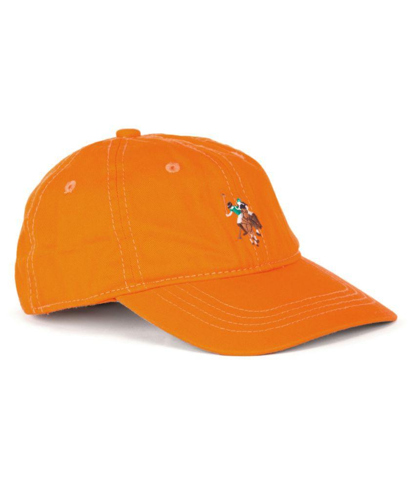 U.S. Polo Assn. Boys Orange Cap
