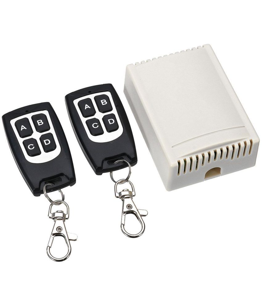 Geekcreit® 12V 4CH Channel 433Mhz Wireless Remote Control Switch With 2